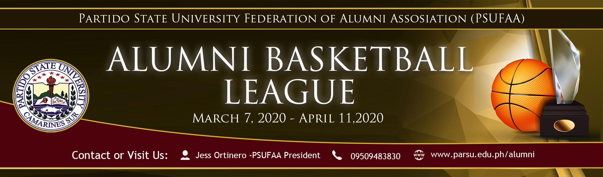 PSUFAA Basketball League