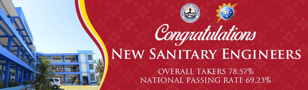 2019 Sanitary Engineering Licensure Passers